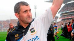 Liam Sheedy after leading to Tipperary to All-Ireland victory in 2010. Picture credit: Paul Mohan / Sportsfile
