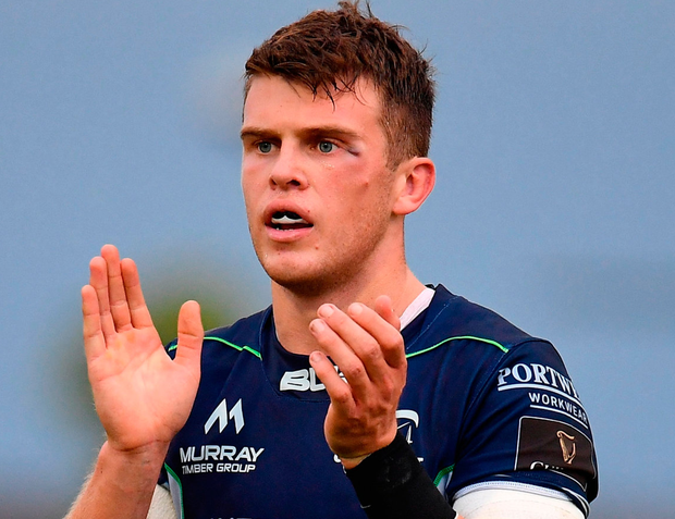 Connacth's Tom Farrell is keen to continue his rise through the ranks. Photo by Seb Daly/Sportsfile