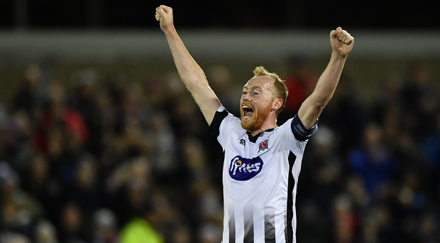 Dundalk on the verge of winning back league crown after surviving late drama against Derry