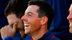 Rory McIlroy: 'He's got great ideas'. Photo by Ramsey Cardy/Sportsfile