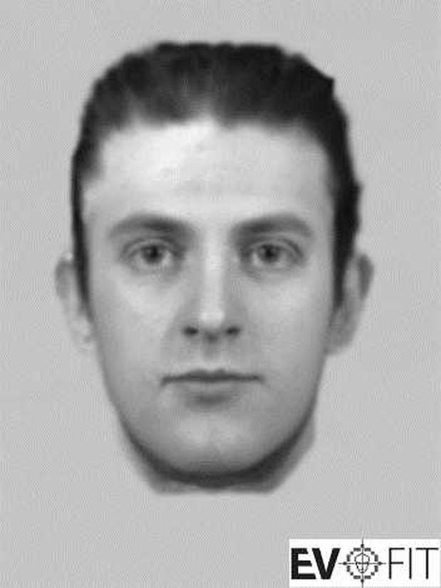 An Evofit issued by gardai of a man who allegedly attempted to abduct a woman on Co Kildare