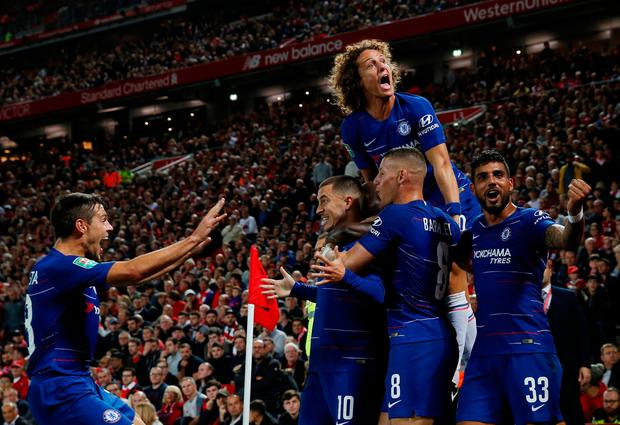 Changes By Sarri? Predicted 4-3-3 Chelsea Lineup Vs Liverpool