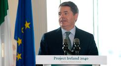Finance Minister Paschal Donohoe. Photo: Justin Farrelly