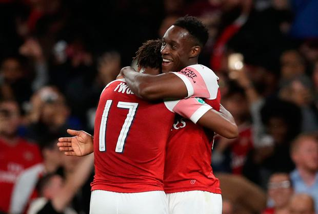 Effortless Danny Welbeck shows his quality in uneasy home victory