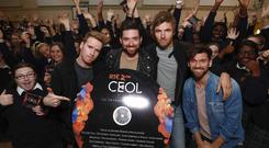 Kodaline launch Ceol at Loreto College Swords