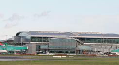 A general view of Dublin airport