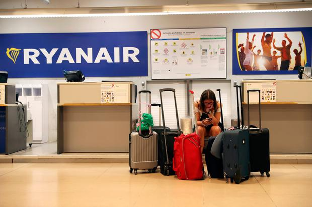 Ryanair forced to cancel flights due to strike action