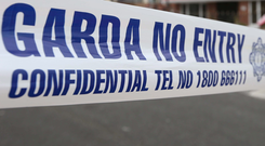 Gardaí sealed off the scene of the tragedy with investigations set to continue today. Stock picture