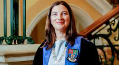Historic: Dr Cliona Murphy clinched the role.