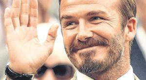Negative reaction: David Beckham posted an angry Instagram message about London traffic while the court proceedings were ongoing without him
