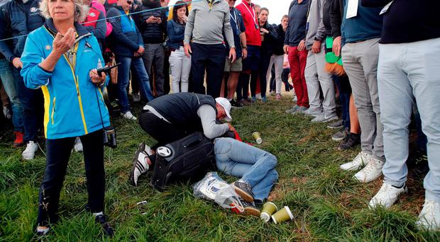 'I am heartbroken' - Brooks Koepka opens up after Ryder Cup tee shot causes fan to lose sight in one eye