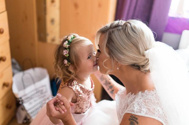 dafc08cafcd3b Ciara and Stephen exchanged vows in an emotional ceremony with their  children by their side, before family and friends headed to The Parkview  Hotel where ...