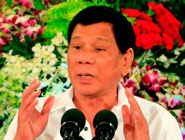 'My only sin is the extrajudicial killings' admits Philippines' Duterte