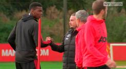 This week's training ground incident between Jose Mourinho and Paul Pogba again highlighted the tensions at Manchester United