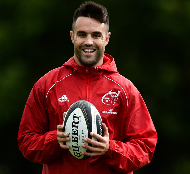 Silent treatment: Conor Murray has exercised his right to keep his medical information private. Photo: Sportsfile