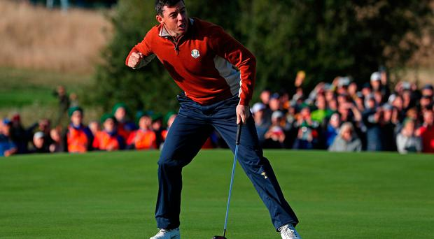 'It's a great place for Rory McIlroy to be with responsibility'
