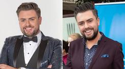 One year on from Celebrity Operation Transformation - James Patrice shared a before and after pic with his followers on Instagram