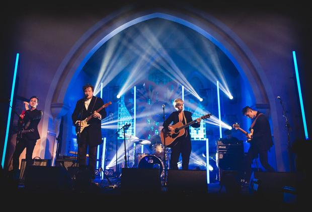 Little Green Cars at St. Michael's Church for Other Voices, Ballina