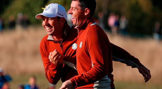 Ryder Cup Sunday Singles draw revealed: McIlroy out first as Europe look to win back trophy in Paris