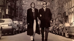 Lucinda and Joe in New York in 1994. Photo: Bob Gruen