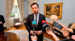 CHALLENGING TIMES: Minister for Housing, Planning and Local Government Eoghan Murphy