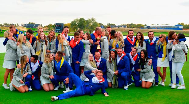 'Moliwood' bask in 'extra special' Ryder Cup night
