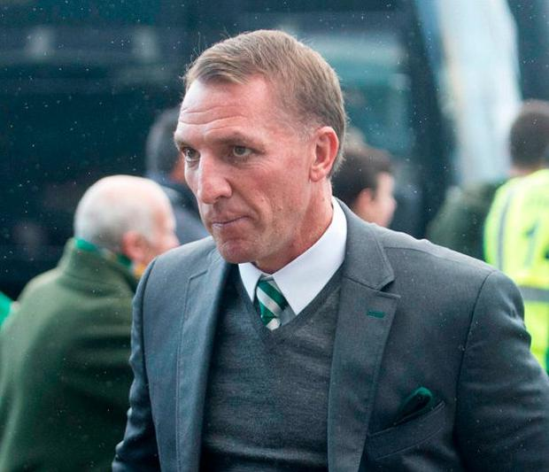 Celtics manager Brendan Rodgers. Photo: Jeff Holmes/PA Wire