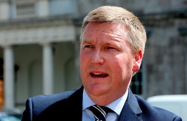 Follow up: Fianna Fáil finance spokesman Michael McGrath. Photo: Tom Burke