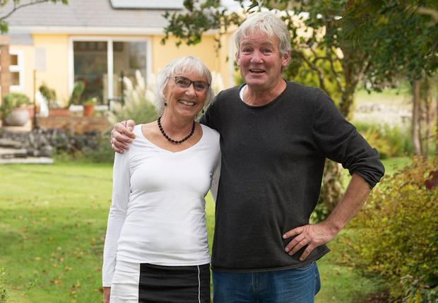 Not in it for the money: Airbnb hosts Birgit and Peter Lochmann, from Corrandulla, Co Galway. Photo: Andrew Downes