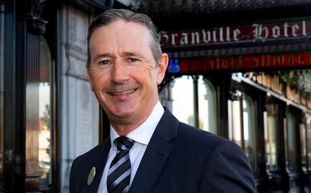 Richard Hurley, manager of the Granville Hotel, Waterford. Photo: Mary Browne