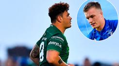 Connacht prop Dominic Robertson-McCoy will receive a lengthy ban after a horror stamp on a prone Josh van der Flier in the 70th minute of his side's defeat.