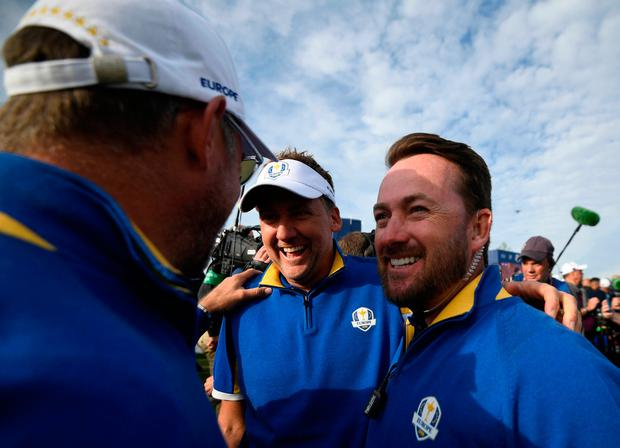 McDowell will be 40 next year and knows that as he may have to wait until 2026 at least before he can be considered a potential captain, making the team again as a player is an ambition worth cherishing. Photo: AFP/Getty Images