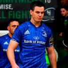 Johnny Sexton will sit out Leinster's clash with Munster on Saturday. Photo: Brendan Moran/Sportsfile