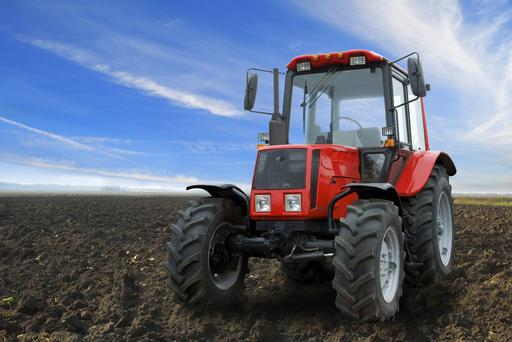 Heavy farm machinery can damage soil structure