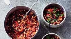 Provencale bean stew by Darina Allen. Photo: Peter Cassidy
