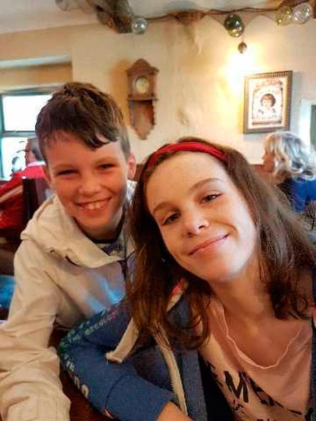 Molly With Her Younger Brother James