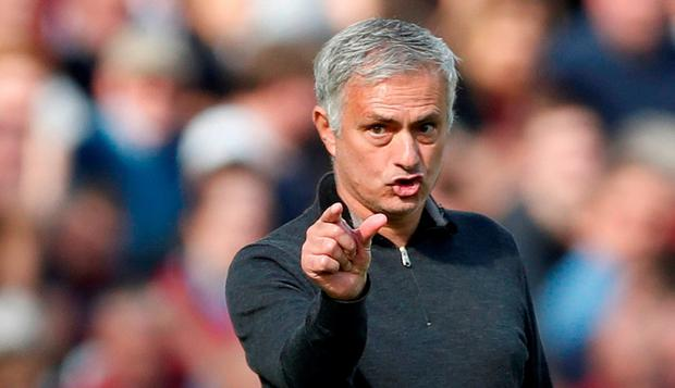 Mourinho irritable as pressure mounts at Man United