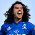 James Lowe of Leinster during the Guinness PRO14 Round 5 match between Connacht and Leinster at The Sportsground in Galway. Photo by Brendan Moran/Sportsfile