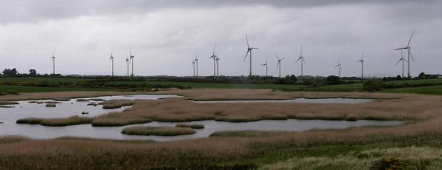 Ballywater Wind Farm originally had consent to generate 31.5MW of power.