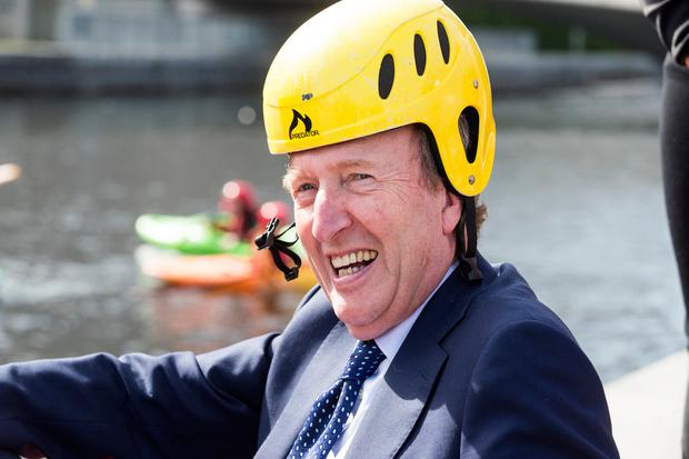 New proposals: Transport, Tourism and Sport Minister Shane Ross is pushing the 'granny flat grant' plans. Photo: Mark Condren
