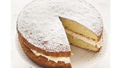 Neven Maguire's Victoria Sponge with Lemon Curd
