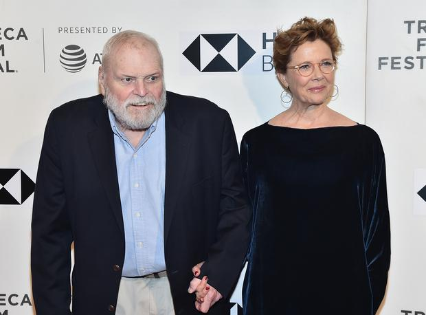 NEW YORK, NY - APRIL 21: Brian Dennehy and Annette Bening attend