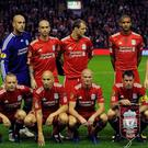 The Liverpool starting XI that faced Napoli almost eight years ago, remember them? CREDIT: GETTY IMAGES