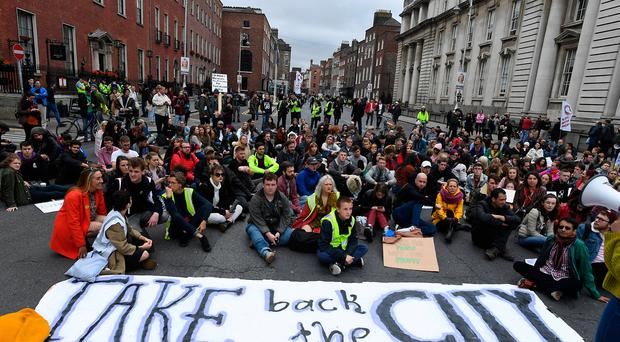 Homeless campaigner Fr Peter McVerry believes that there are at least half a million people in the country whose housing situation is causing them serious distress.
