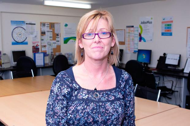 Help: Catherine Greig, the Job Club Coordinator in Birr. Photo: Ger Rogers Photography