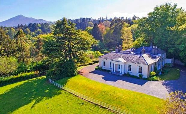 Prestige: Knockmore in Enniskerry failed to attract any bidders