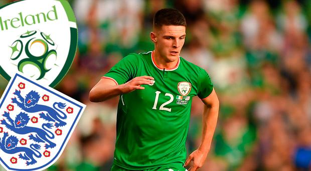 'I will make a decision soon' - Declan Rice on international future following talks with Ireland and England