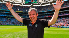 Peter Keane: Good record and good rapport with emerging generation. Photo: Sportsfile