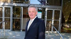 Presidential candidate Peter Casey pictured before the presidential debate on RTE Radio 1. Photo: Damien Eagers / INM