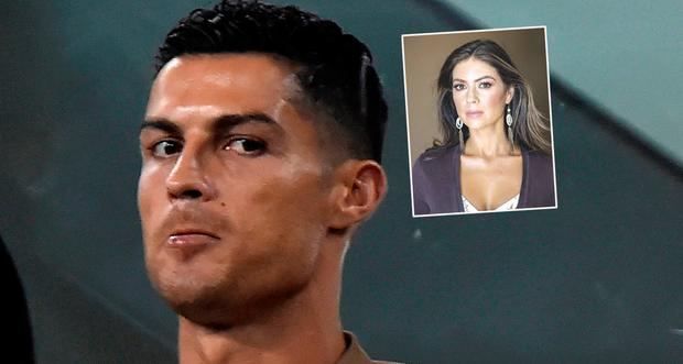 Cristiano Ronaldo has been accused of raping Kathryn Mayorga (inset)